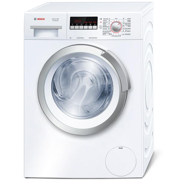 Стиральная машина узкая Bosch Serie 6, 3D Washing WLK20266OE