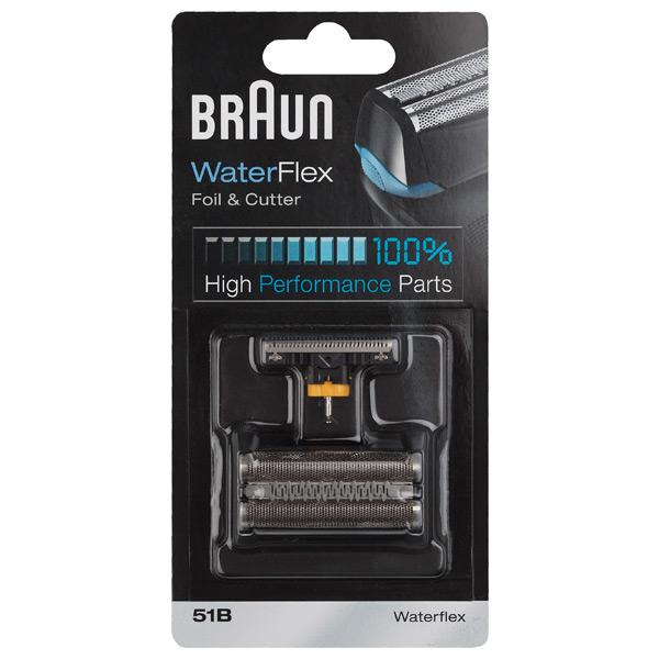 Сетка и режущий блок для электробритвы BraunСетки и режущие блоки для электробритв<br>Серия: WaterFlex, Wet&amp;Dry,<br>Страна: Германия<br>