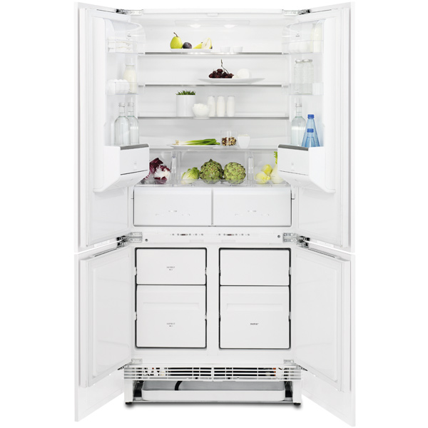 Встраиваемый холодильник side-by-side Electrolux