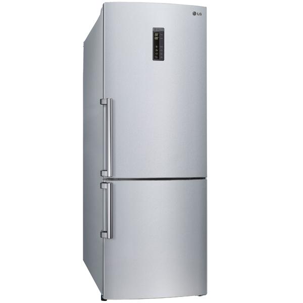 Холодильник с нижней морозильной камерой Широкий LG GC-B559EABZ