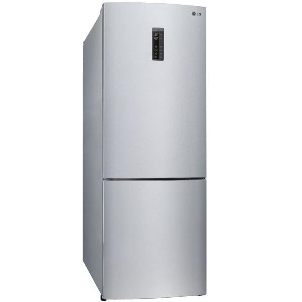 Холодильник с нижней морозильной камерой Широкий LG GC-B559PMBZ