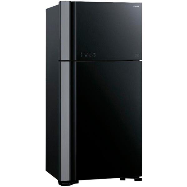 Холодильник с верхней морозильной камерой широкий Hitachi R-VG 542 PU3 GBK монитор asus mx299q