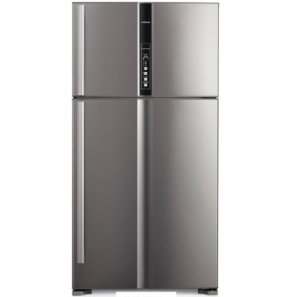 Холодильник с верхней морозильной камерой Широкий Hitachi R-V 722 PU1X INX