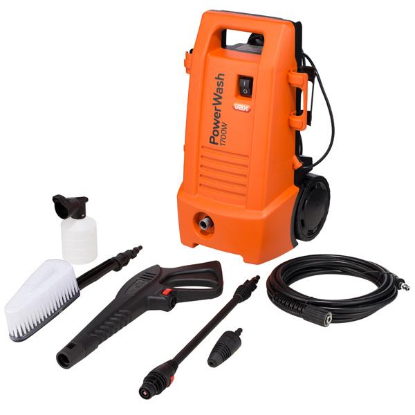 Автомойка VAXМинимойки автомобильные<br>Габаритные размеры (В*Ш*Г): 50*22*25 мм,<br>Ширина: 22 см,<br>Глубина: 25 см,<br>Высота: 50 см,<br>Цвет: оранжевый/черный,<br>Крепление для пистолета выс.давления: Да,<br>Потребляемая мощность: 1700 Вт,<br>Подключение к водопроводу: Да,<br>Вид гарантии: гарантийный талон,<br>Количество насадок: 5,<br>Гарантия: 2 года,<br>Страна: КНР,<br>Максимальное давление: 130 Бар,<br>Колесики для перемещения: Да,<br>Вес: 4.8 кг,<br>Насадка-щетка: Да,<br>Использование моющего сред-ва: Да,<br>Ручка для перемещения: Да,<br>Моющее сред-во универсальное: доп. опция<br>