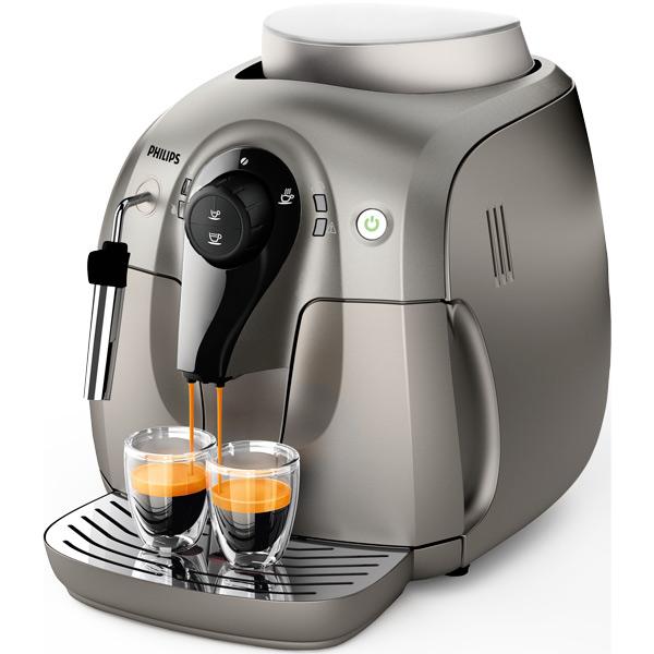 Кофемашина PhilipsАвтоматические кофемашины<br>Габаритные размеры (В*Ш*Г): 32.5*29.5*42 см,<br>Инд. готовности к работе: Да,<br>Потребляемая мощность: 1400 Вт,<br>Индикация отсутствия воды: Да,<br>Базовый цвет: серебристый,<br>Индикация отсутствия кофе: Да,<br>Материал жерновов: керамика,<br>Фильтр для воды: доп. опция,<br>Трубка подачи пара: Да,<br>Тип управления: электронный,<br>Режим энергосбережения: Да,<br>Гарантия: 2 года,<br>Страна: Румыния,<br>Материал корпуса: пластик,<br>Приготовл. кофе эспрессо: Да,<br>Серия: 2000 series,<br>Вид гарантии: гарантийный талон,<br>Ширина: 29.5 см<br>