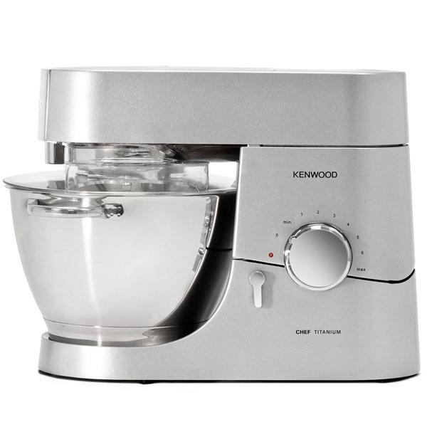 Кухонная машина KenwoodКухонные машины<br>Серия: Titanium Chef,<br>Мясорубка: в комплекте,<br>Потребляемая мощность: 1400 Вт,<br>Соковыжималка: в комплекте,<br>Насадка для замешив. теста: Да,<br>Отключение при перегреве: Да,<br>Колка льда в блендере: Да,<br>Блендер: 1.7 л,<br>Насадка для мягких смесей: Да,<br>Плавный запуск двигателя: Да,<br>Гарантия: 2 года,<br>Количество насадок: 6,<br>Мойка в посудомоеч. машине: Да,<br>Страна: КНР,<br>Материал чаши: нерж. сталь,<br>Прорезиненные ножки: Да,<br>Тип управления: механический,<br>Импульсный режим работы: Да<br>
