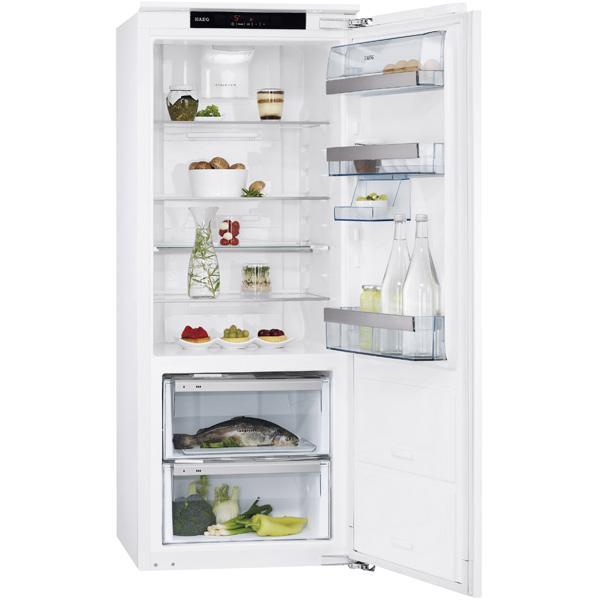 Встраиваемый холодильник однодверный AEG SKZ81400C0