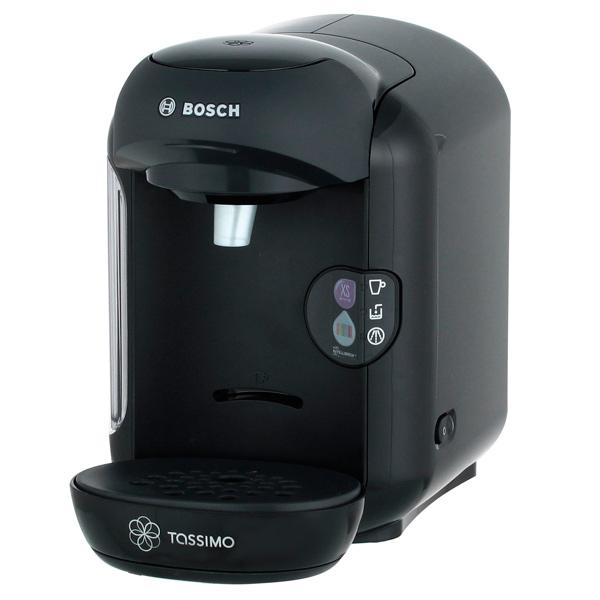 Кофеварка капсульного типа BoschКапсульные кофеварки<br>Тип используемых капсул: Tassimo,<br>Съемный резервуар для воды: Да,<br>Индикация отсутствия воды: Да,<br>Съемный резерв. для капель: Да,<br>Инд. готовности к работе: Да,<br>Материал решетки каплесбор: пластик,<br>Серия: Tassimo VIVI,<br>Макс. загрузка капсул: 1,<br>Объем резервуара для воды: 0.7 л,<br>Приготовл. кофе эспрессо: Да,<br>Приготовл. кофе капучино: Да,<br>Индикация включения: Да,<br>Страна: КНР,<br>Индикатор уровня воды: Да,<br>Потребляемая мощность: 1300 Вт,<br>Гарантия: 1 год,<br>Габаритные размеры (В*Ш*Г): 25*17*30 см<br>