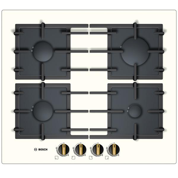 Встраив. газовая панель BoschВстраиваемая газовая панель<br>Глубина: 520 мм,<br>Размещение панели управ.: спереди,<br>Ширина: 590 мм,<br>Жиклеры д/подкл. газ.балона: Да,<br>Штуцер д/подкл. газ.балона: Да,<br>Цвет регуляторов конфорок: золотистый,<br>Габаритные размеры (Ш*Г): 590*520 мм,<br>Серия: Serie | 6,<br>Тип управления: механический,<br>Гарантия: 1 год,<br>Вес: 13 кг,<br>Страна: Испания,<br>Размер ниши (Ш*Г): 560*480 мм,<br>Количество конфорок: 4,<br>Функция миним. огонь: Да,<br>Решетка: чугунная,<br>Края панели: обработанные без рамки,<br>Материал варочной поверхности: закаленное стекло<br>