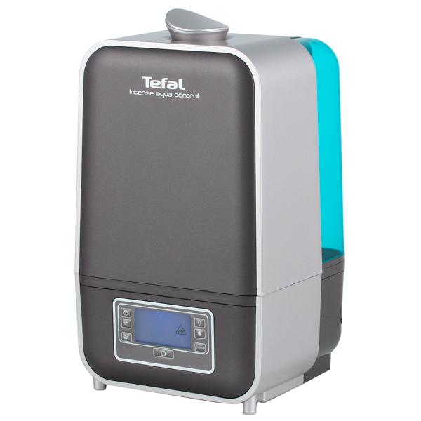 Воздухоувлажнитель TefalУвлажнители воздуха<br>Материал корпуса: пластик,<br>Режим автомат. поддерж влажности: Да,<br>Режим теплый пар: Да,<br>Вес: 2.5 кг,<br>Откл. при отсутствии  воды: Да,<br>Детский режим: Да,<br>Тип воздухоувлажнителя: ультразвуковой,<br>Индикация включения: Да,<br>Рек. площадь помещения (в 2.6 м): до 45 кв. м,<br>Индикация уровня воды: Да,<br>Таймер выключения : Да,<br>Ночной режим: Да,<br>Уровень шума: 40 дБ,<br>Высота: 40.5 см,<br>Цвет: серый,<br>Смягчение воды: Да,<br>Страна: КНР,<br>Инд. влажности в помещении: Да,<br>Резервуар для воды: 5.5 л<br><br>Ширина см: 25<br>Вес кг: 2.5<br>Глубина см: 25<br>Высота см: 40.5<br>Цвет : серый