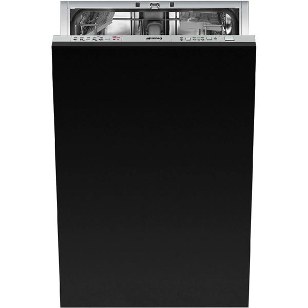 Встраиваемая посудомоечная машина 45 см SmegВстраиваемые посудомоечные машины 45см<br>Высота: 818 мм,<br>Мытье тонкого стекла: Да,<br>Глубина: 550 мм,<br>Режим неполная загрузка: Да,<br>Максимальная вместимость: 10 комплектов,<br>Ширина: 448 мм,<br>Вид гарантии: гарантийный талон,<br>Класс энергоэффективности: A++,<br>Регулировка высоты короба: Да,<br>Отложенный старт: 3/ 6/ 9 часов,<br>Использование средств 3 в 1: Да,<br>Встроенный теплообменник: Да,<br>Корзина для стол. приборов: Да,<br>Функция зона интенсивного мытья: Да,<br>Предварит. ополаскивание: Да,<br>Самодиагностика неисправн.: Да<br><br>Вес кг: 34<br>Ширина мм: 448<br>Глубина мм: 550<br>Высота мм: 818