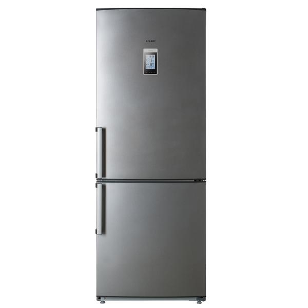 Холодильник с нижней морозильной камерой Широкий АтлантШирокие холодильники с нижней морозильной камерой<br>Климатический класс: SN-N-ST,<br>Ванночки для льда: 1 шт,<br>Разм. мороз. камеры: автомат.(No Frost),<br>Базовый цвет: Цветной ,<br>Количество дверей: 2,<br>Полок в холодильной камере: 4,<br>Тип освещения: лампа накаливания,<br>Перенавешиваемые двери: Да,<br>Тип управления: сенсорный,<br>Уровень шума: 43 дБ,<br>Материал полок: стекло,<br>Страна: Беларусь,<br>Количество камер: 2,<br>Звук.сиг. двери холод.к-ры: Да,<br>Количество компрессоров: 1,<br>Гарантия: 3 года,<br>Отделений в мороз. камере: 1,<br>Энергопотребление в год: 425 кВтч<br>
