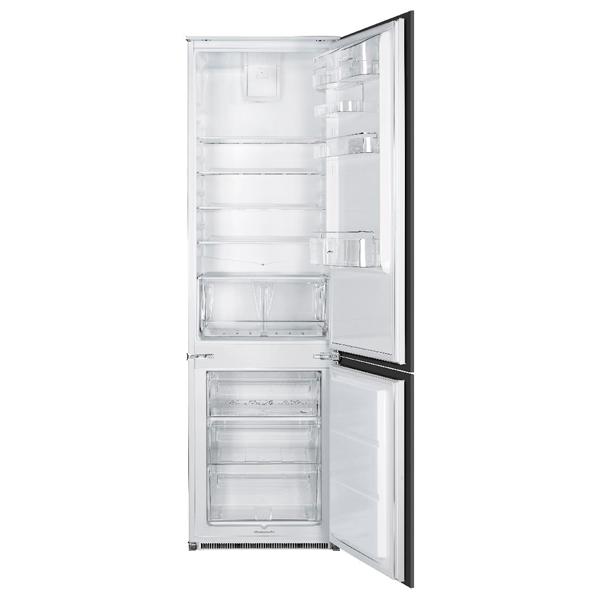 Встраиваемый холодильник комби Smeg