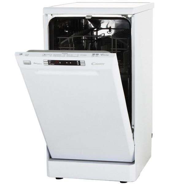 Посудомоечная машина (45 см) CandyПосудомоечные машины (45 см)<br>Габаритные размеры (В*Ш*Г): 85*45*60 см,<br>Потребляемая мощность: 1930 Вт,<br>Наим. защиты от протечек: AquaStop,<br>Защита от детей: Да,<br>Класс энергоэффективности: A,<br>Энергопотребление за цикл: 0.8 кВтч,<br>Минипрограмма: Да,<br>Вид гарантии: гарантийный талон,<br>Ширина: 45 см,<br>Отложенный старт: до 23 часов,<br>Глубина: 60 см,<br>Высота: 85 см,<br>Предварит. ополаскивание: Да,<br>Цвет: белый,<br>Количество программ мойки: 7,<br>Функция усиленная гигиена: Да,<br>Тип управления: электронный,<br>Уровень шума: 49 дБ<br>