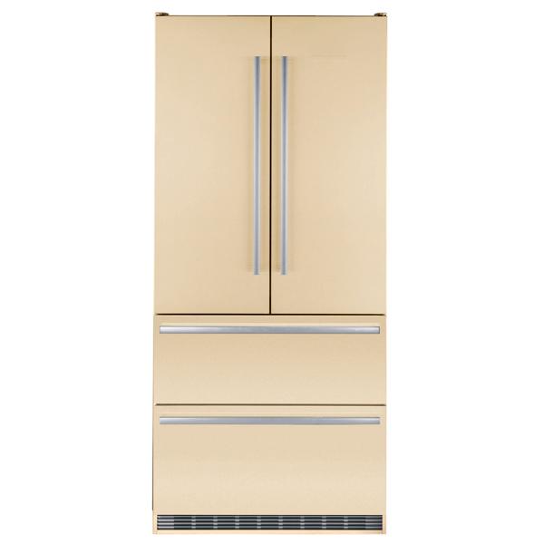 Холодильник многодверный LiebherrХолодильники Side-by-Side и многодверные<br>Звук.сиг. двери мороз.к-ры: Да,<br>Звук.сиг. повышения темп.: Да,<br>Свет.сиг. повышения темп. : Да,<br>Тип освещения: светодиодное,<br>Вентилятор для распр. темп.: Да,<br>Звук.сиг. двери холод.к-ры: Да,<br>Вес: 167 кг,<br>Полок в холодильной камере: 4,<br>Количество дверей: 4,<br>Разм. мороз. камеры: автомат.(No Frost),<br>Объем зоны свежести: 68 л,<br>Кронштейн для бутылок: Да,<br>Климатический класс: SN-T,<br>Лёдогенератор: Да,<br>Мощность замораживания: 11 кг/сутки,<br>Страна: Австрия,<br>Фильтр очистки воды: Да<br><br>Ширина см: 91<br>Вес кг: 167<br>Глубина см: 61.5<br>Высота см: 203.9<br>Цвет : бежевый