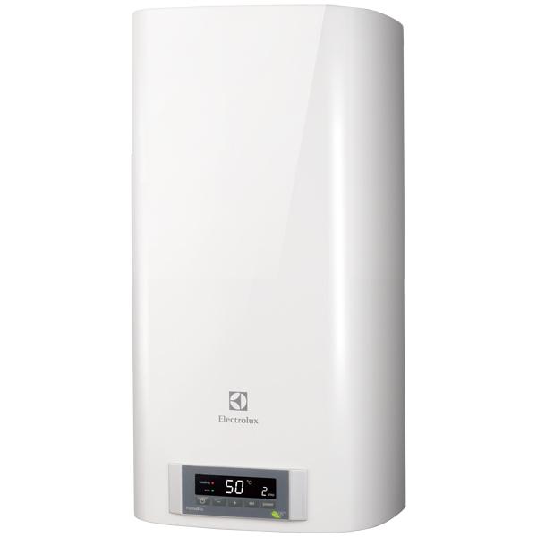 Водонагреватель накопительный ElectroluxНакопительные водонагреватели<br>Глубина: 35.9 см,<br>Высота: 82.5 см,<br>Автоматическое выключение: Да,<br>Тип дисплея: цифровой,<br>Материал бака: металл,<br>Цвет: белый,<br>Сетевой кабель: в комплекте,<br>Ширина: 34.4 см,<br>Индикация температуры нагрева: Да,<br>Вертикальное размещение: Да,<br>Горизонтальное размещение: Да,<br>Объем: 50 л,<br>Внутр. покрытие бака: эмаль,<br>Вес: 23 кг,<br>Магниевый анод: Да,<br>Регул. температуры нагрева: Да,<br>Минимальное давление воды: 0.8 атм,<br>Антибактериальный режим: Да,<br>Вид гарантии: гарантийный талон<br>