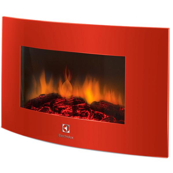 Электрокамин Electrolux EFP/W - 1200URLS красный