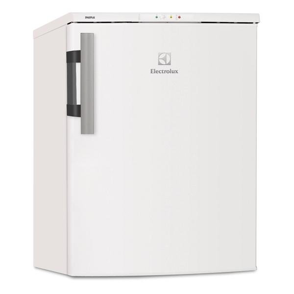 Морозильная камера ElectroluxМорозильные камеры<br>Количество компрессоров: 1,<br>Вес: 36.65 кг,<br>Количество дверей: 1,<br>Хладагент: R 600a,<br>Количество камер: 1,<br>Габаритные размеры (В*Ш*Г): 85*59.5*63.5 см,<br>Мощность замораживания: 9 кг/сутки,<br>Открытие дверцы: направо,<br>Климатический класс: SN-N-ST-T,<br>Разм. мороз. камеры: автомат.(No Frost),<br>Перенавешиваемые двери: Да,<br>Тип компрессора: стандартный,<br>Хранение при откл. питания: 13 ч,<br>Режим суперзамораживания : автоматический,<br>Индикация включения: Да,<br>Вид гарантии: гарантийный талон,<br>Гарантия: 1 год<br>