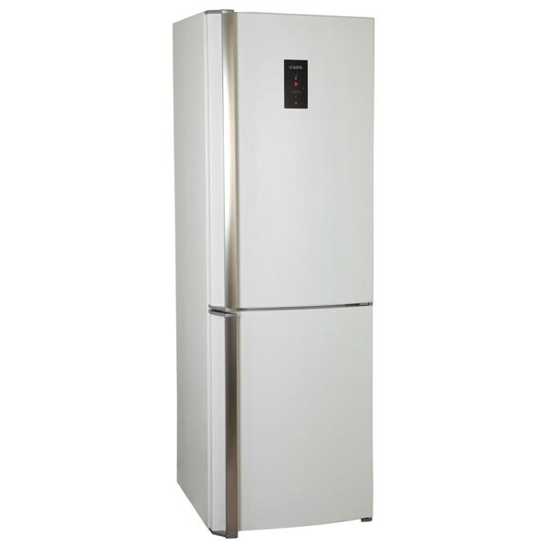 Холодильник с нижней морозильной камерой AEGХолодильники с нижней морозильной камерой<br>Отделений в мороз. камере: 1,<br>Тип компрессора: стандартный,<br>Расположение мороз.камеры: нижнее,<br>Количество дверей: 2,<br>Климатический класс: SN-N-ST-T,<br>Мощность замораживания: 10 кг/сутки,<br>Разм. мороз. камеры: автомат.(No Frost),<br>Материал полок: стекло,<br>Ящиков в зоне сохр. свежести: 1,<br>Ящиков в мороз. камере: 3,<br>Отделений в зоне сохр. свежести: 1,<br>Хранение при откл. питания: 20 ч,<br>Зона сохранения свежести: влажная,<br>Режим энергосбережения: Да,<br>Кронштейн для бутылок: Да,<br>Инд. темп. в холод. к-ре: Да<br><br>Вес кг: 77.1<br>Ширина см: 59.5<br>Глубина см: 64.7<br>Высота см: 184<br>Цвет : белый