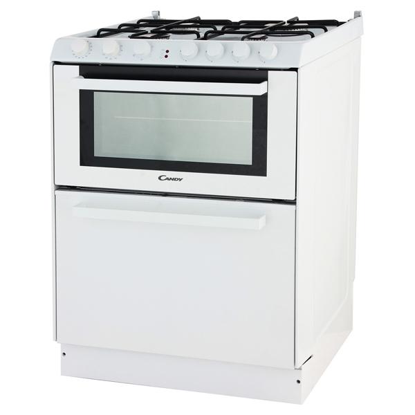 Газовая плита (60 см) с посудомоечной машиной Candy Trio 9501/1 W