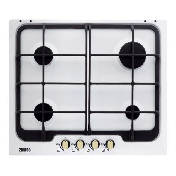 Встраив. газовая панель ZanussiВстраиваемые газовые панели<br>Базовый цвет: белый ,<br>Количество конфорок: 4,<br>Мин.толщина столешницы (мм): 30,<br>Цвет регуляторов конфорок: золотистый,<br>Размещение панели управ.: спереди,<br>Габаритные размеры (Ш*Г): 594*510 мм,<br>Ширина: 594 мм,<br>Глубина: 510 мм,<br>Вид гарантии: гарантийный талон,<br>Электроподжиг конфорок: автоматический,<br>Цвет: белый,<br>Газконтроль конфорок: Да,<br>Варочная панель: независимая,<br>Материал варочной поверхности: эмаль,<br>Решетка: чугунная,<br>Вес: 10.2 кг,<br>Функция миним. огонь: Да,<br>Размер ниши (Ш*Г): 560*480 мм<br><br>Вес кг: 10.2<br>Ширина мм: 594<br>Глубина мм: 510<br>Цвет : белый