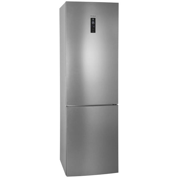 Холодильник с нижней морозильной камерой HaierХолодильники с нижней морозильной камерой<br>Цвет: стальной,<br>Ширина: 59.5 см,<br>Высота: 199.8 см,<br>Глубина: 67.2 см,<br>Страна: Россия,<br>Система No Frost: в холодильном и морозильном отделении,<br>Звук.сиг. двери холод.к-ры: Да,<br>Энергопотребление в год: 349 кВтч,<br>Режим суперохлаждения: Да,<br>Звук.сиг. повышения темп.: Да,<br>Перенавешиваемые двери: Да,<br>Разм. холод. камеры: автомат.(No Frost),<br>Отделений в зоне сохр. свежести: 1,<br>Режим суперзамораживания : Да,<br>Ящиков в зоне сохр. свежести: 1,<br>Количество компрессоров: 1,<br>Вес: 85 кг<br><br>Вес кг: 85<br>Ширина см: 59.5<br>Глубина см: 67.2<br>Высота см: 199.8<br>Цвет : стальной