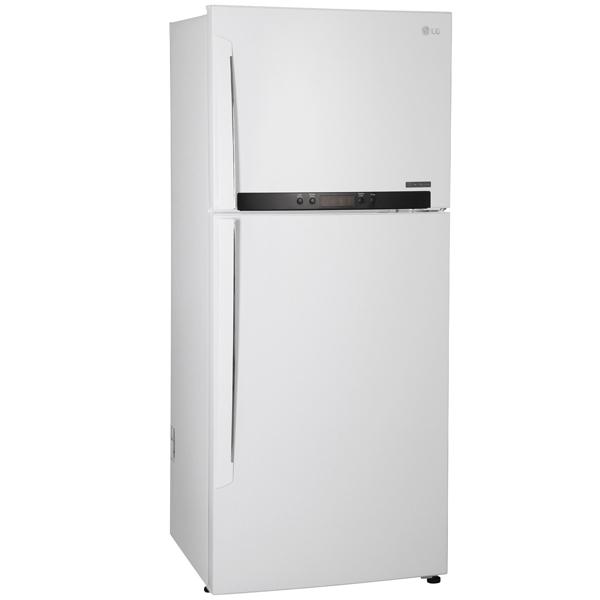 Холодильник с верхней морозильной камерой Широкий LG GC-M432HQHL
