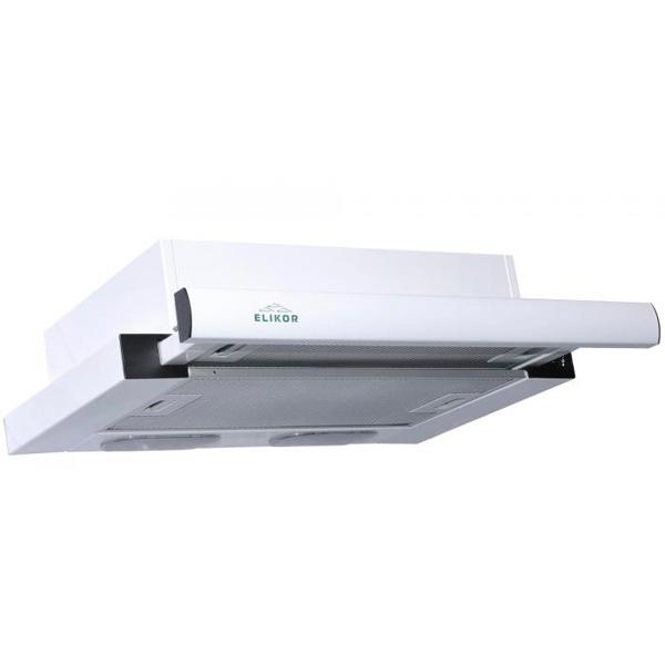 Вытяжка встраиваемая в шкаф 50 см Elikor Интегра 50 White/White