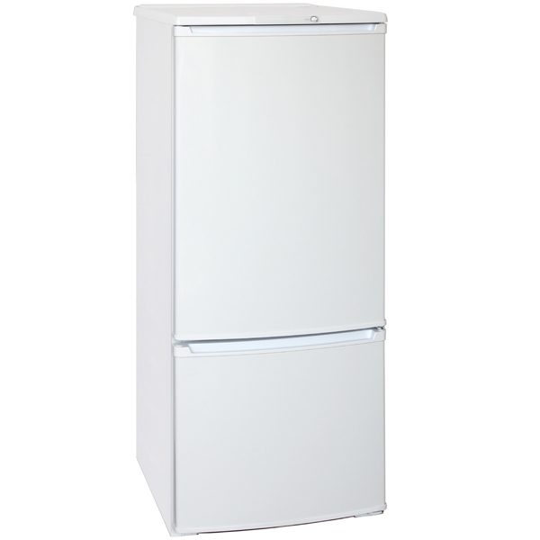 Холодильник с нижней морозильной камерой Бирюса