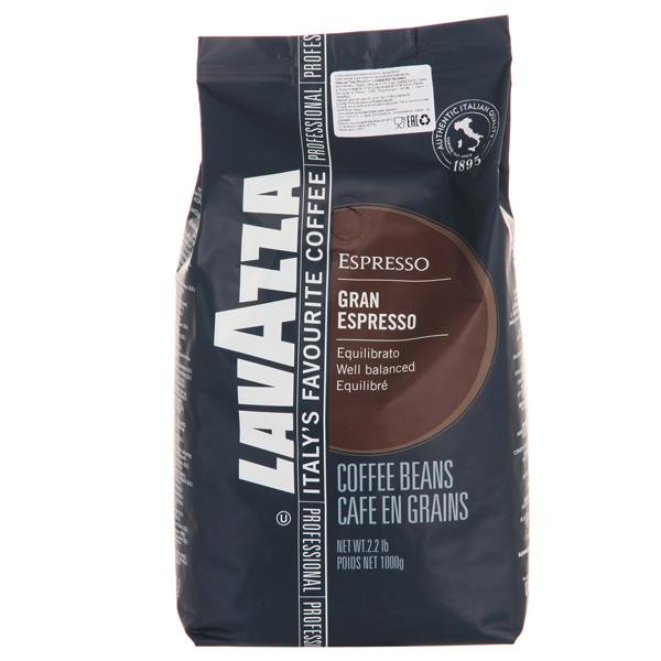 Кофе в зернах Lavazza