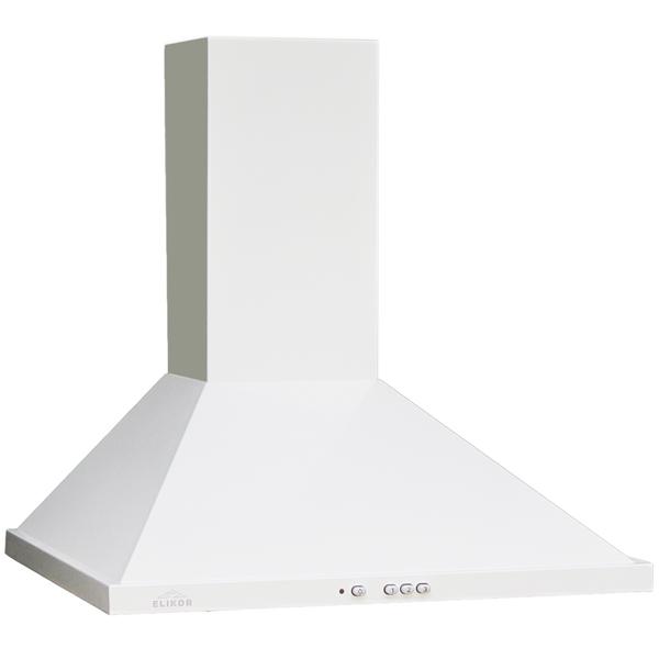 Вытяжка 60 см Elikor Оптима 60П-400-К3Л White