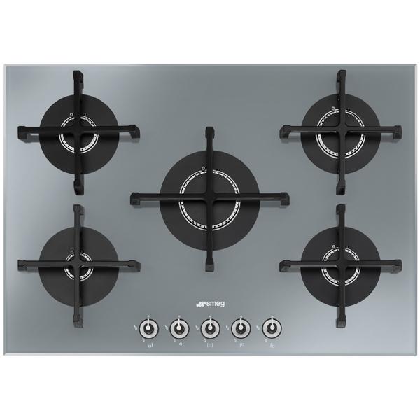 Встраив. газовая панель Smeg PV175S-1 варочная панель электрическая smeg sim562b черный