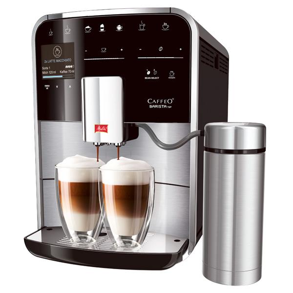 Кофемашина Melitta Caffeo Barista TSP Inox (F780-100), Португалия