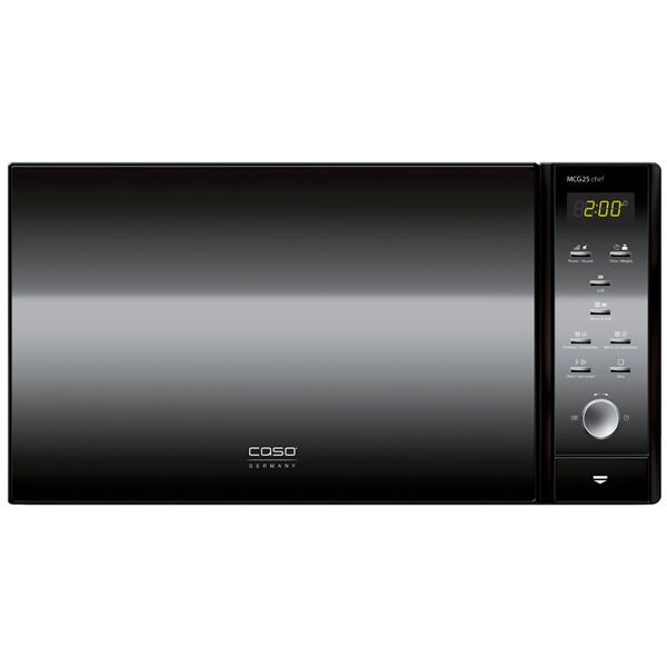 Микроволновая печь с грилем и конвекцией Caso MCG 25 Chef Black (3360)