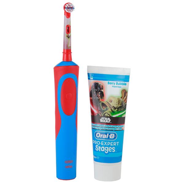 Электрическая зубная щетка Braun Vitality D14K Star Wars