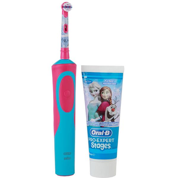 Электрическая зубная щетка Braun