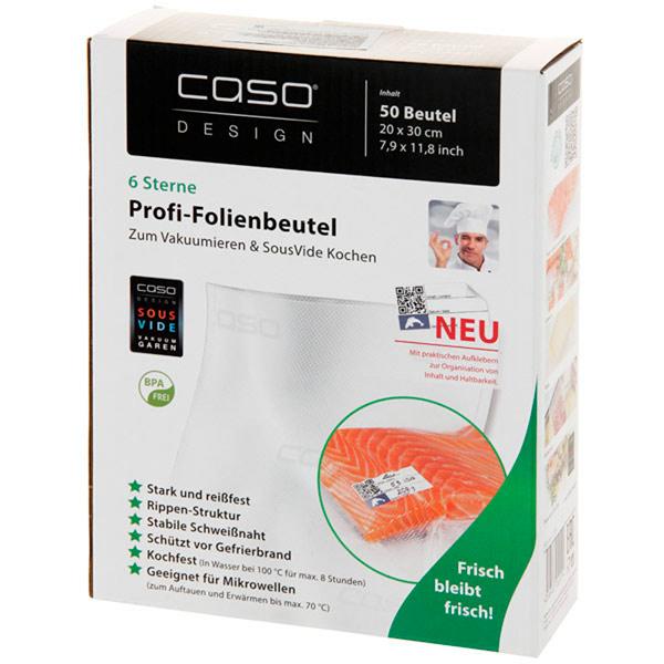 Пакет для вакуумного упаковщика Caso 20x30 см, 50 шт. (1219)