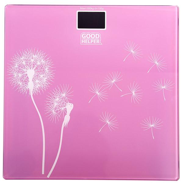Весы напольные Goodhelper BS-S40 Pink