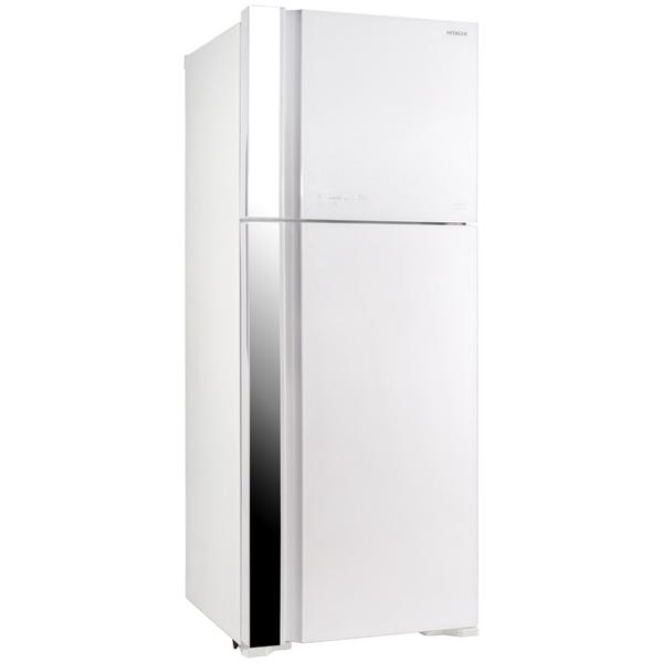 Холодильник с верхней морозильной камерой Широкий Hitachi R-VG 542 PU3 GPW