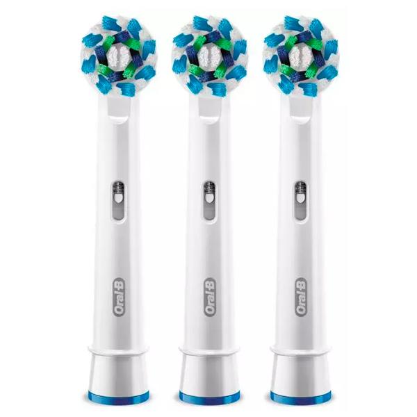 Насадка для зубной щетки Oral-B Braun EB50 Cross Action 2+1