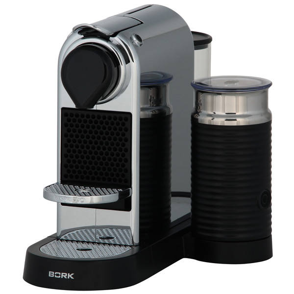 Кофемашина капсульного типа Nespresso Bork Bork C533 Citiz & Milk Chrome