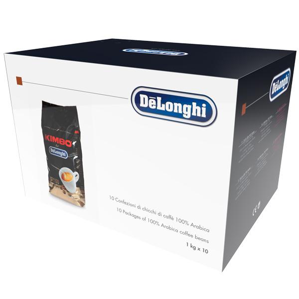 все цены на  Кофе в зернах De Longhi 100% Arabica 10 X 1кг  онлайн