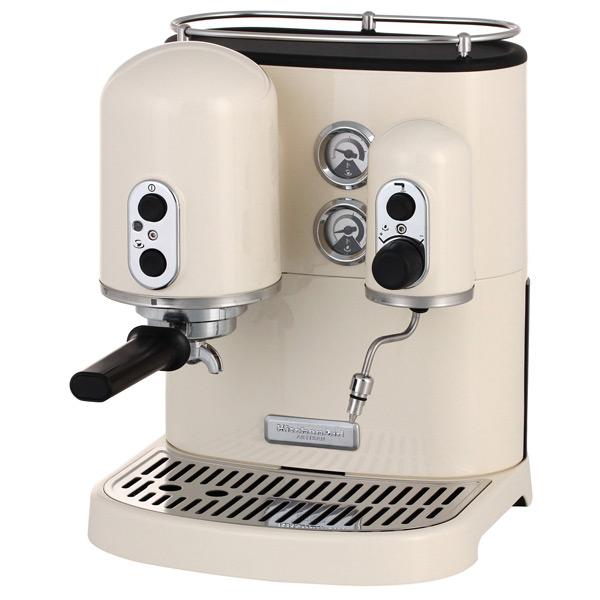 Кофеварка рожкового типа KitchenAid Artisan 5KES2102EAC кремовый