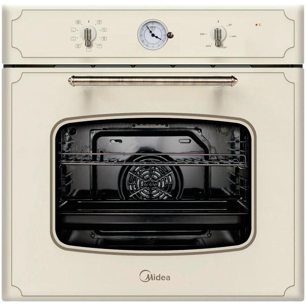 Электрический духовой шкаф Midea 65DME40101  духовой шкаф 600 rmp античная медь ilve