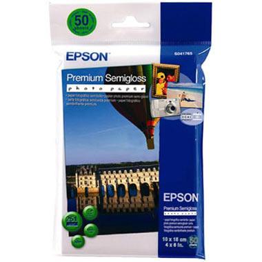 Фотобумага для принтера Epson Premium Semigloss (С13S041765)