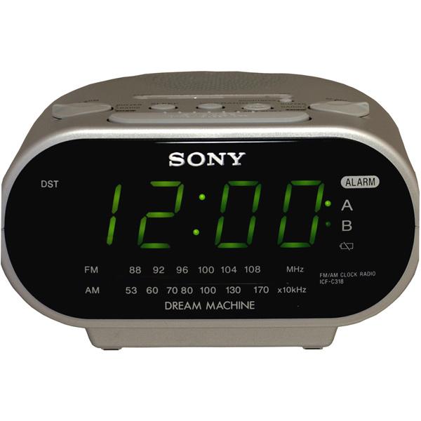 Инструкция на часы фирмы sony icf c318