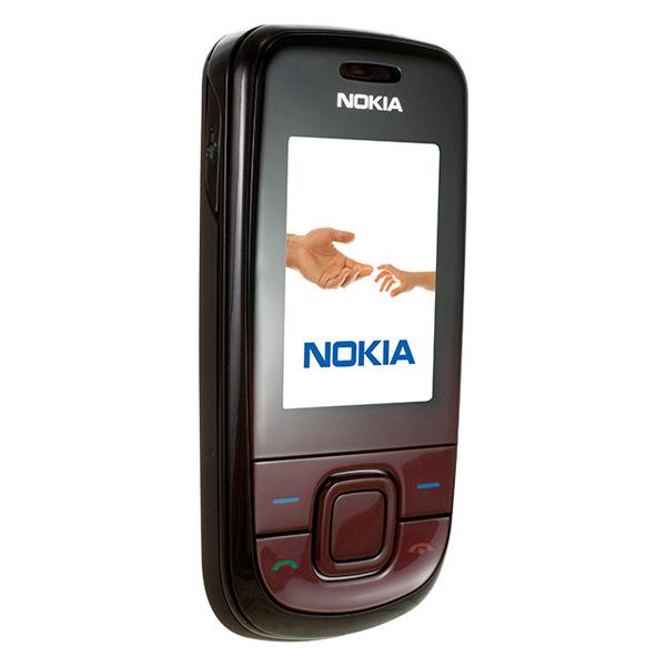 Nokia 3600 slide, вид раскрытого телефона