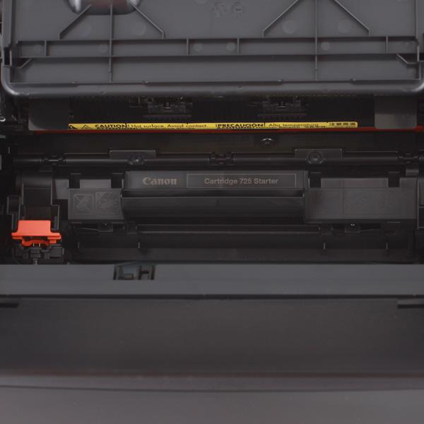 В принтере используется картридж canon 725