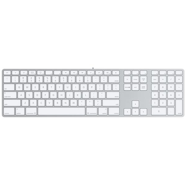 Клавиатура проводная Apple Apple MB110RU/B. Доставка по России