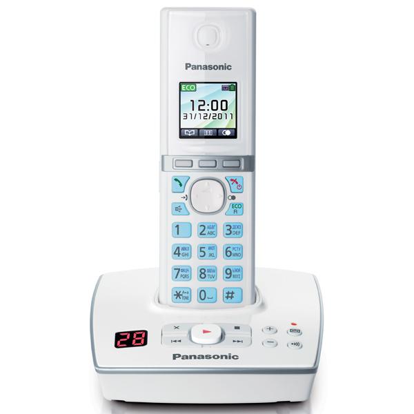 Радиотелефон DECT Panasonic KX-TG8061RUW